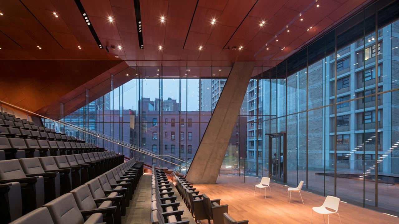Columbia University Medical Center's New Roy and Diana Vagelos Education Center Opens  Columbia