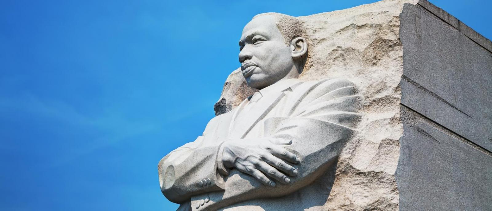 monument of Martin Luther King, Jr.